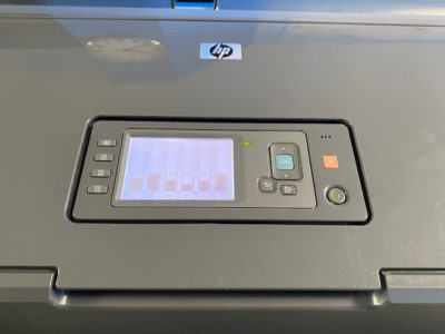 HP T770 - Niveaux cartouches
