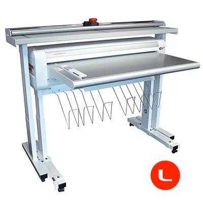 Combi Plieuse electrique et coupeuse pour traceur A0 - AZ Printers